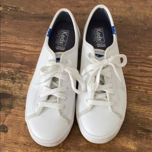Keds White Tennis Shoes